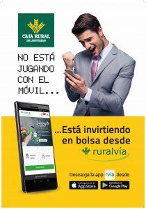 Campaña publicitaria para Caja Rural de Asturias. Catelería y banners